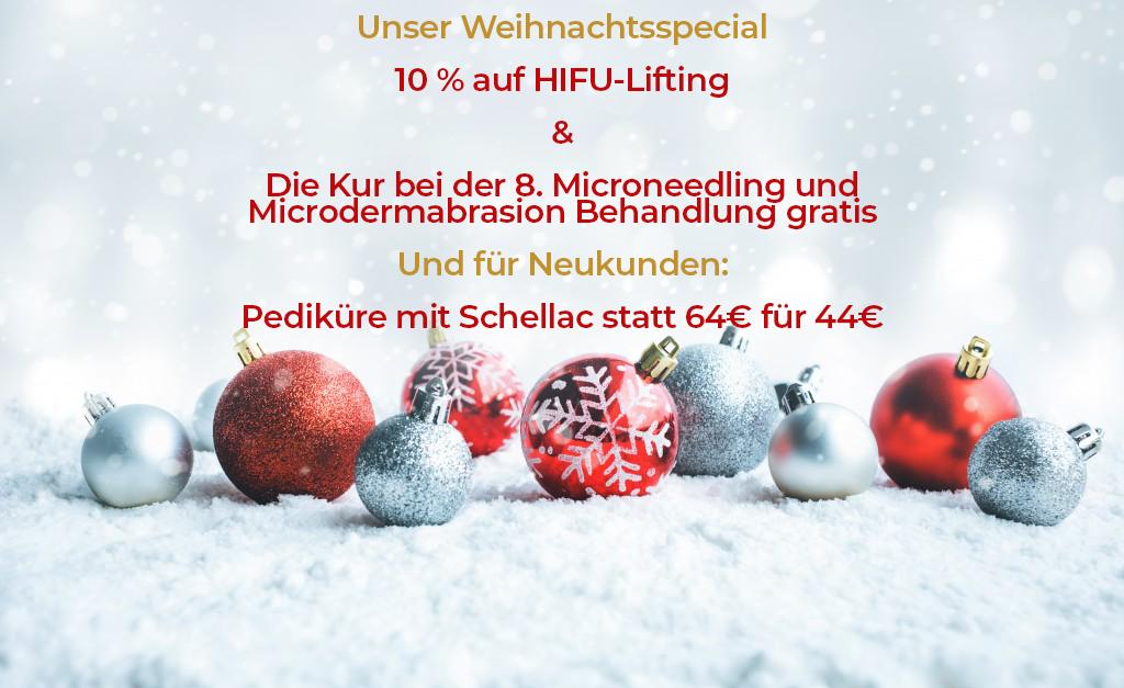 Weihnachtsangebot Kosmetikstudio Meerbusch Weihnachtsspecial