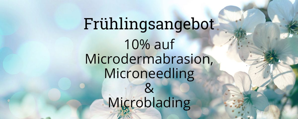 Frühlingsangebot Kosmetikstudio Meerbusch